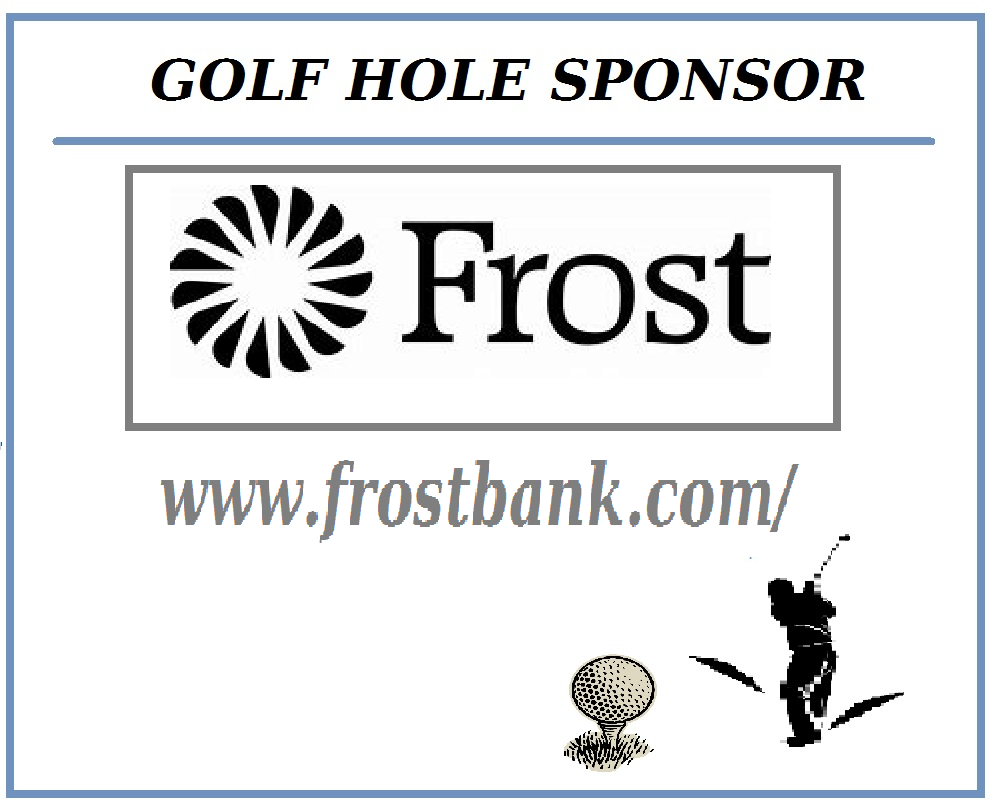 Golf Hole Sponsor - Frost Bank - Logo