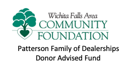 Sponsor a Veteran - Wichita Falls Area Community Foundation - Patterson Family of Dealerships Donor Advised Fund - Logo