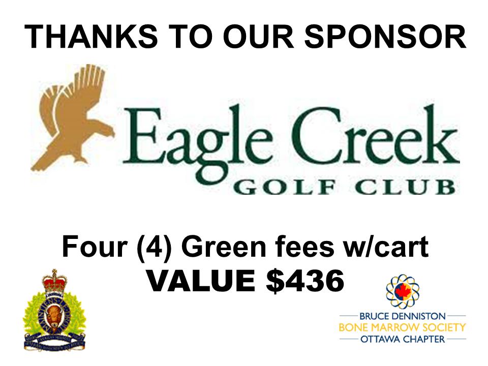 PRIZE TOKEN SPONSOR ($300 >$3,000.00) - EAGLE CREEK GOLF CLUB - Logo