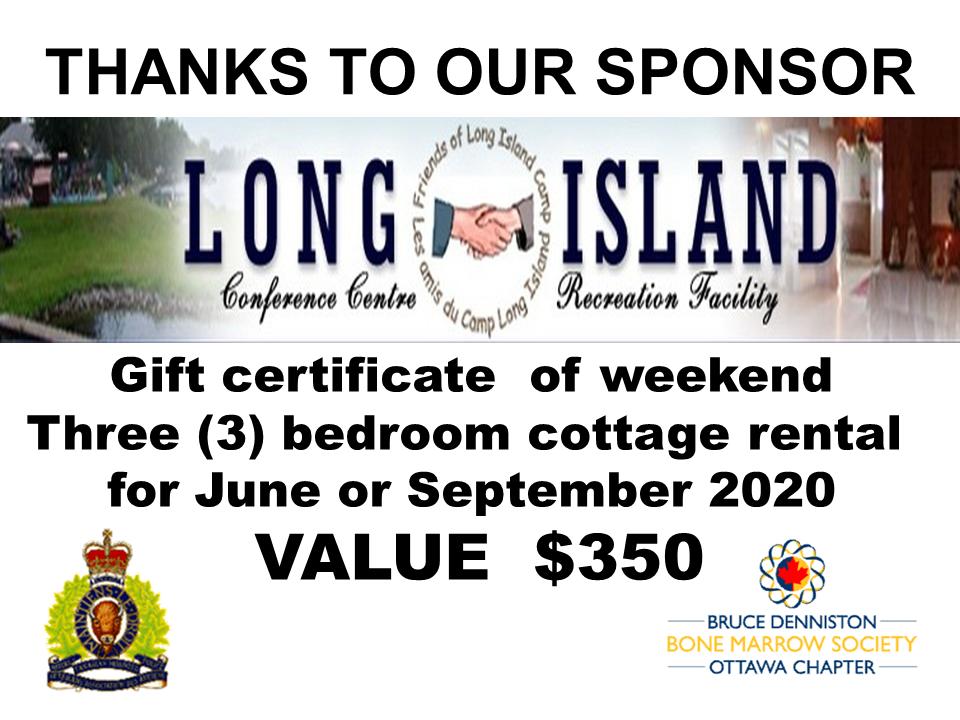 PRIZE TOKEN SPONSOR ($300 >$3,000.00) - LONG ISLAND CAMP GROUND - Logo