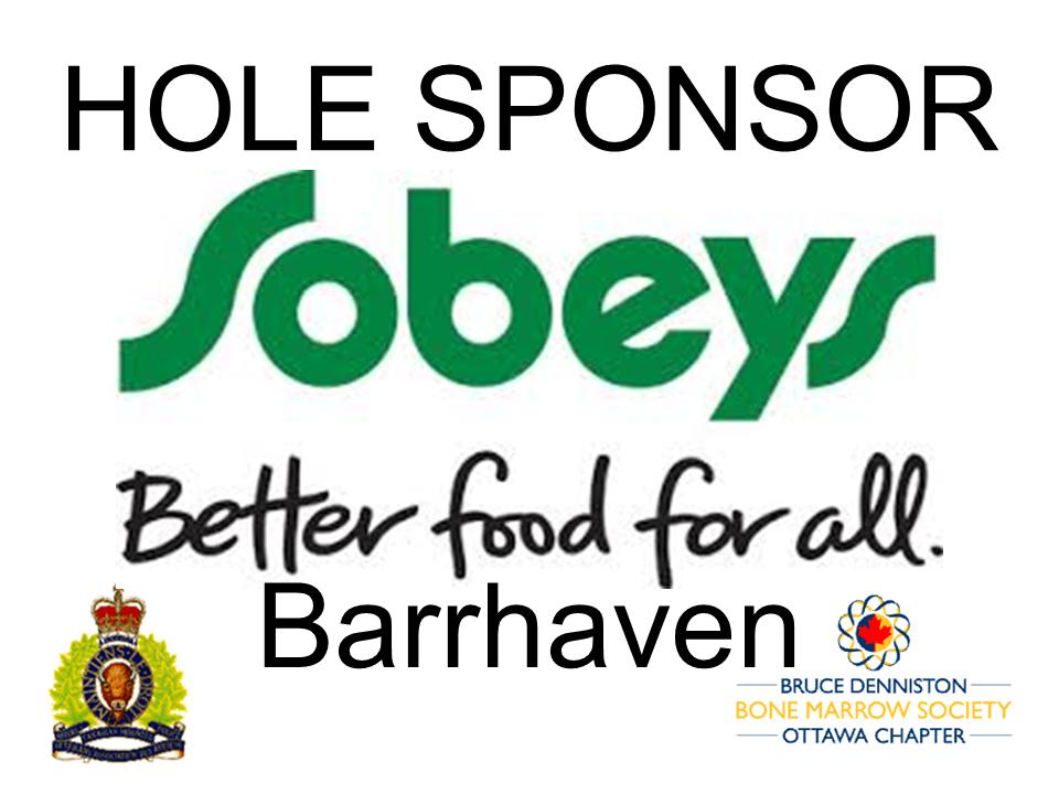 HOLE SPONSOR - SOBERY'S BARRHAVEN - Logo