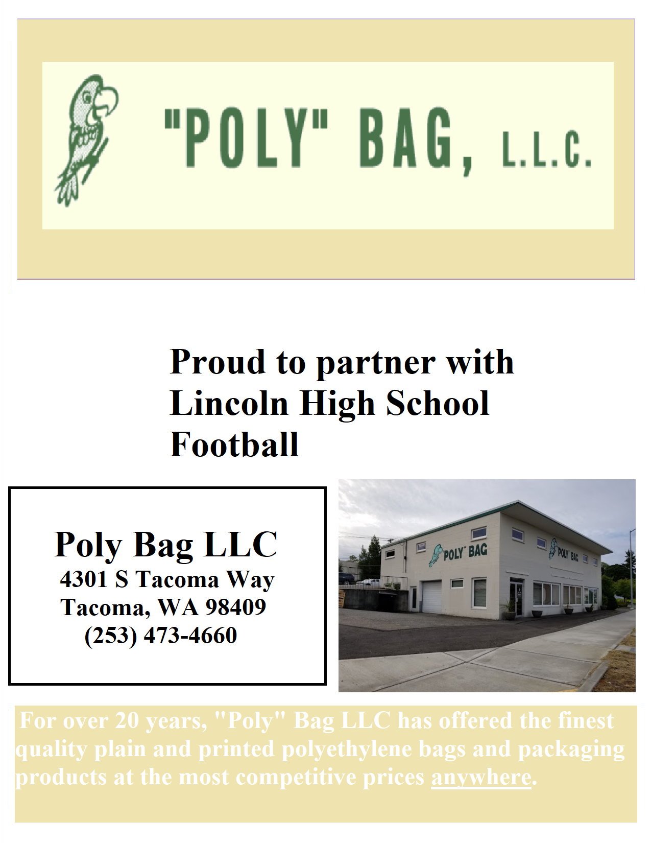 Poly Bag, LLC