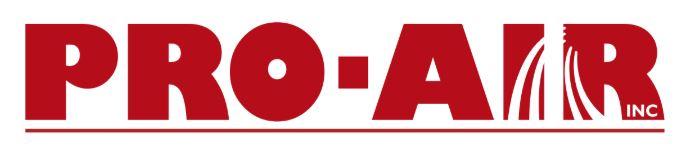 Beverage Cart Sponsor - Pro-Air - Logo