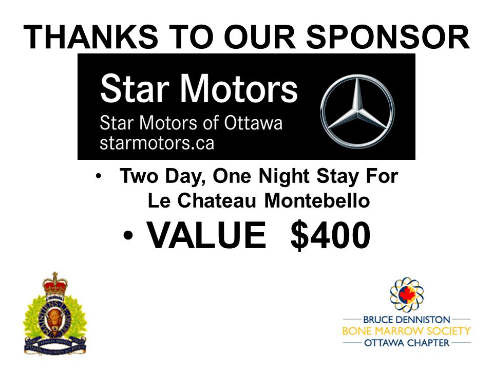 PRIZE TOKEN SPONSOR ($300 >$3,000.00) - STAR MOTORS  - Logo