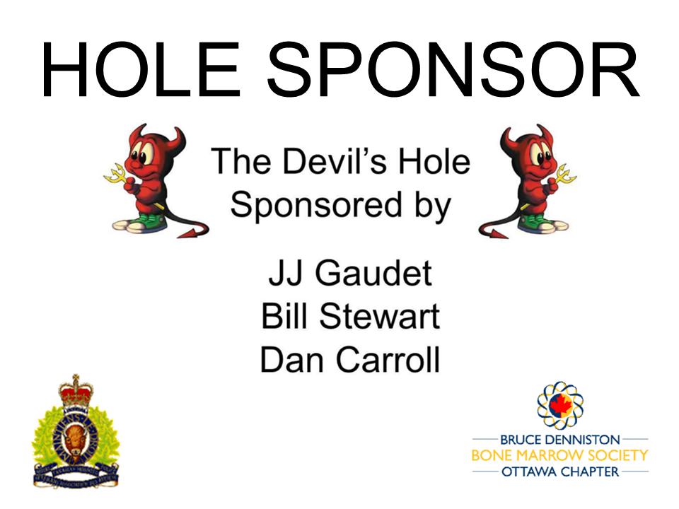 HOLE SPONSOR - THE DEVIL'S HOLE  - Logo