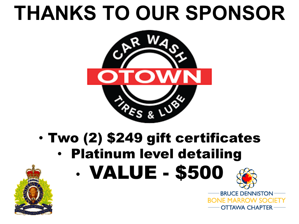 SILENT AUCTION SPONSOR - O TOWN CAR WASH - Logo