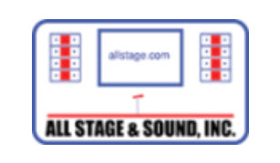 Hole Sponsors - All Stage & Sound, Inc. - Logo