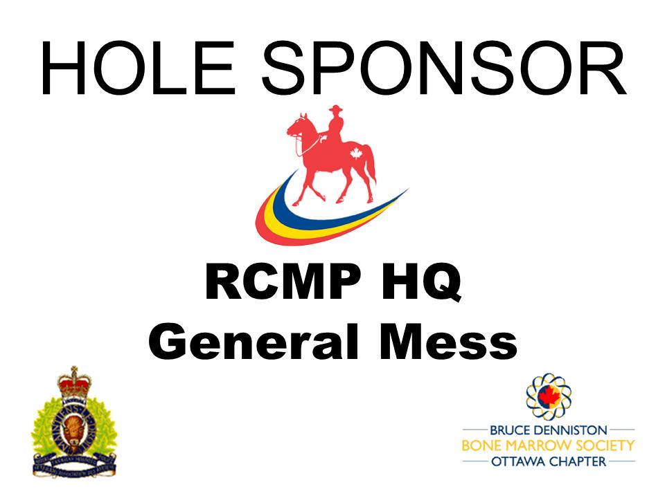 HOLE SPONSOR - HQ GENERAL MESS - Logo