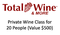 Silent Auction Donations - Total Wine & More - Logo