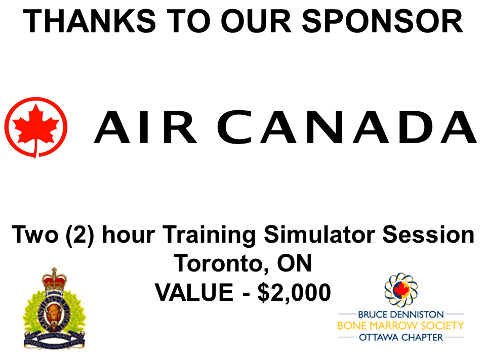 SILENT AUCTION SPONSOR - AIR CANADA - Logo