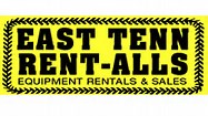 Hole Sponsor - East Tennessee Rent-alls - Logo