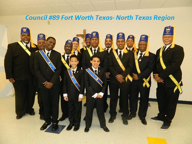Major Sponsor - Knights of Peter Claver, Council 89 Fort Worth, TX - Logo