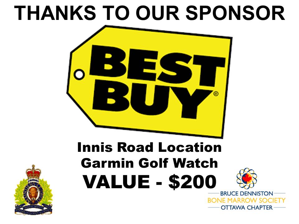 SILENT AUCTION SPONSOR - BEST BUY (Innes Road) - Logo