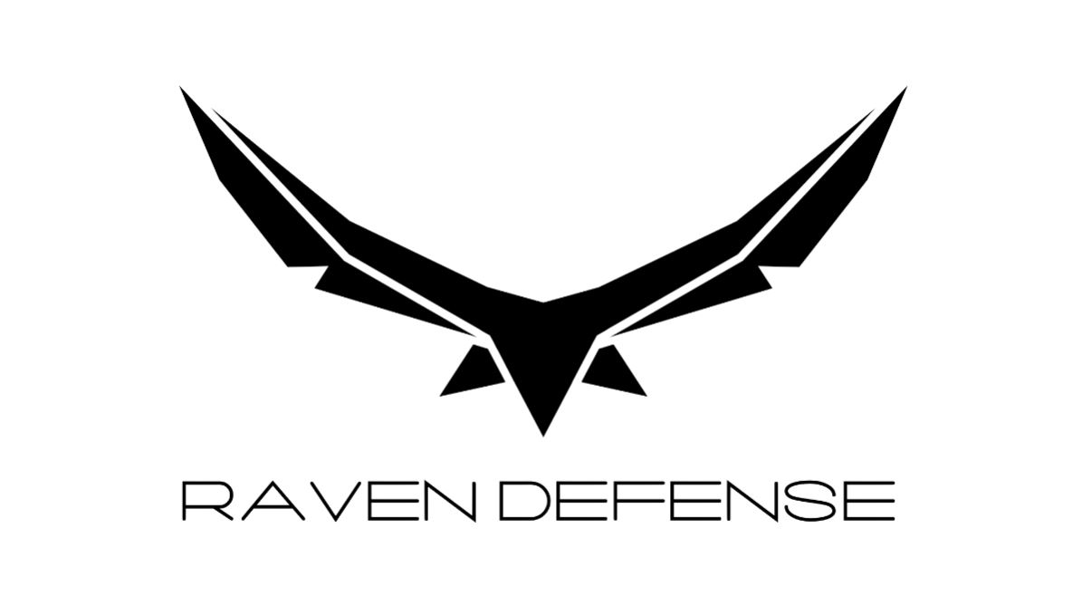 Beverage Cart Sponsor - Raven Defense - Logo