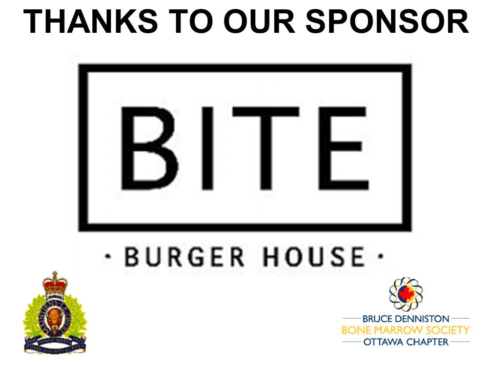 PRIZE DONATION ( $75 > $125) FOR CONTEST WINNER(S)  - BITE BURGER HOUSE - Logo
