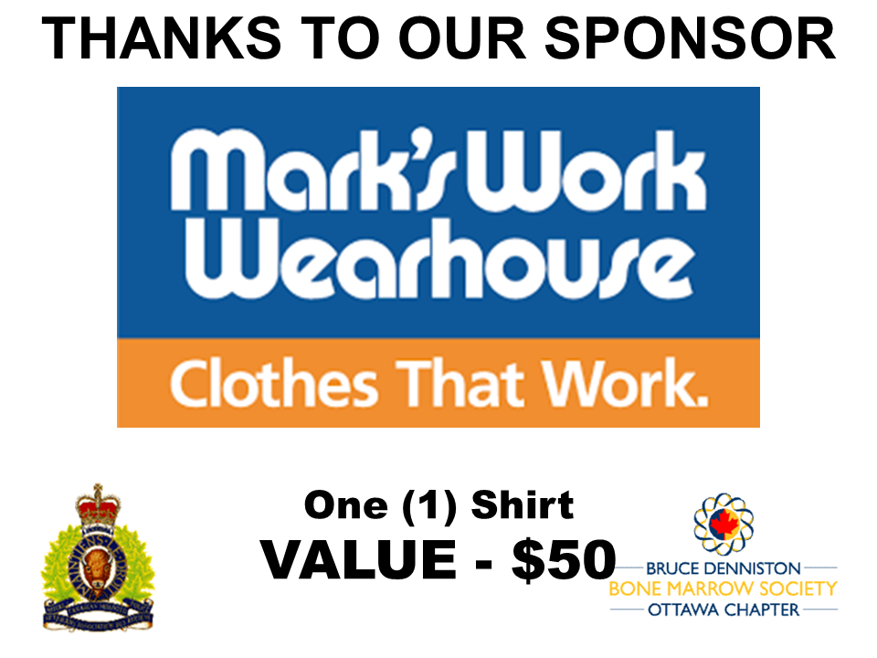 PRIZE DONATION ( $75 > $125) FOR CONTEST WINNER(S)  - MARK'S WORK WEARHOUSE - Logo