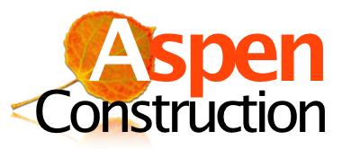 Silver Sponsor - Aspen Construction - Logo