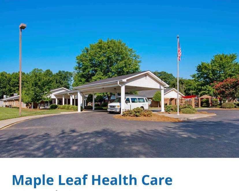 Hole Sponsor - Maple Leaf Health Care - Logo