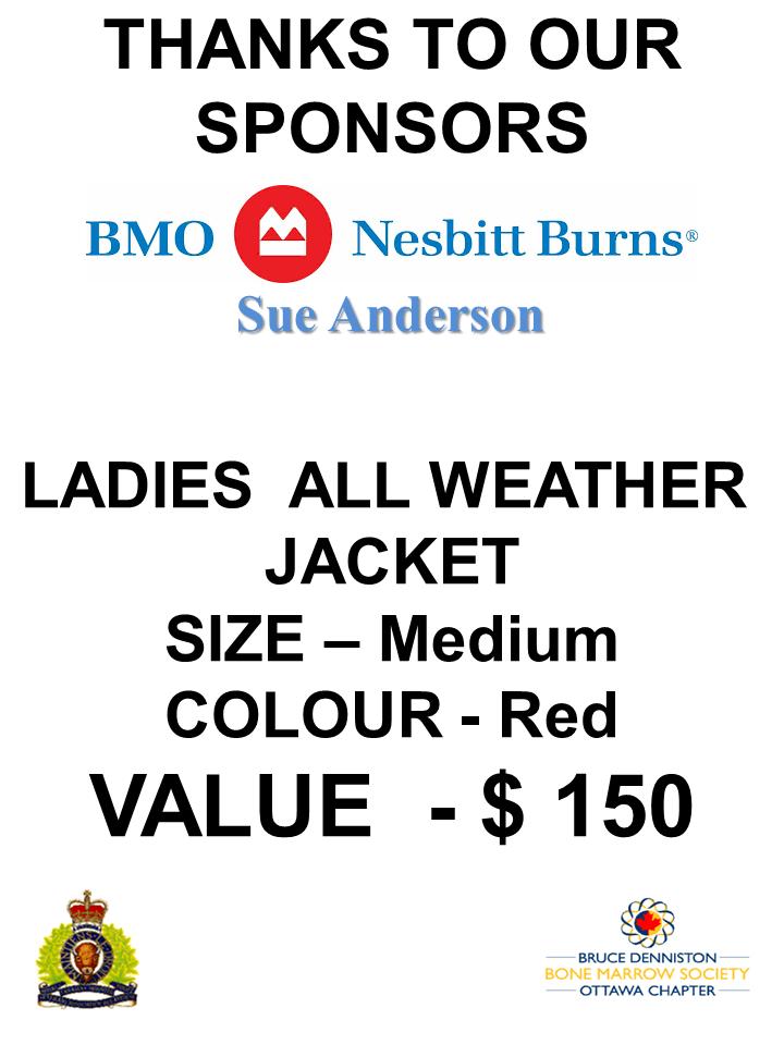 SILENT AUCTION SPONSOR - BMO - NESBIT BURNS - SUE ANDERSON - Logo