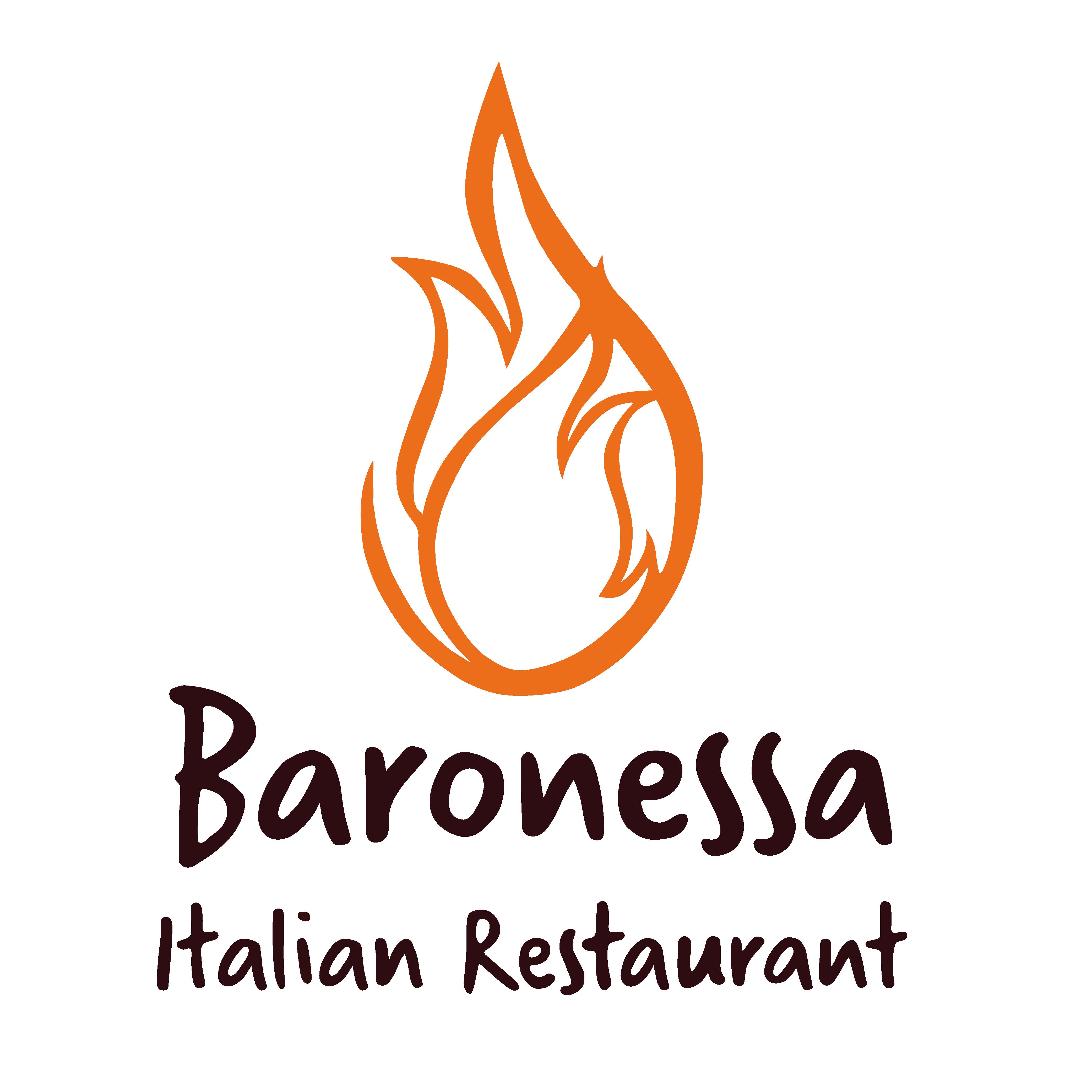 Tee Box Sponsor - Baronessa Italian Restaurant - Logo