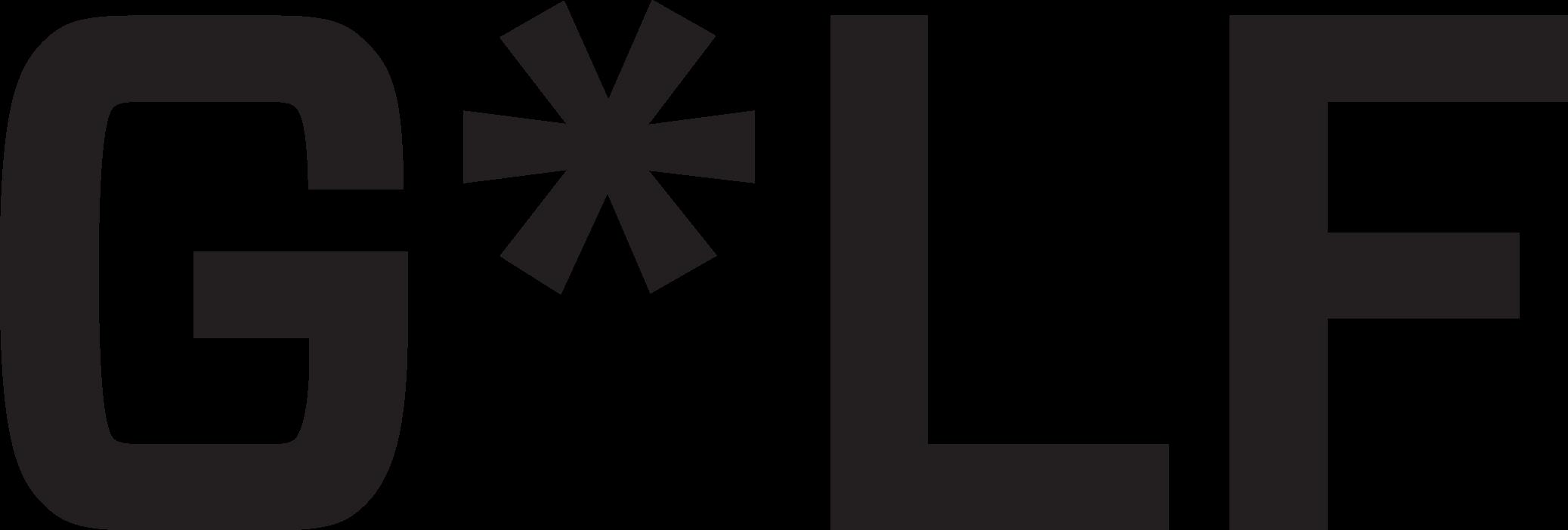 HOLE SPONSOR - G*LF - Logo