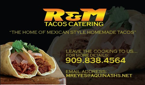 R&M Taco Catering
