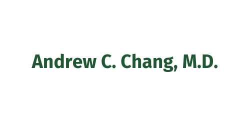 Napa Valley Eagle Sponsor ($5,000) - Andrew C. Chang M.D. - Logo