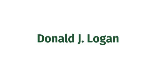 Scholar's Drive Sponsor ($1,500) - Donald J. Logan - Logo
