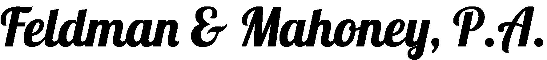 Hole Sponsors - Feldman & Mahoney P.A. - Logo