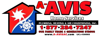 Tabletop Sponsor - A-Avis Home Services - Logo