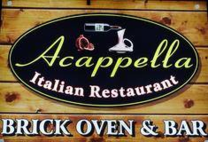 Raffle Prize Sponsors - Accapella - Logo