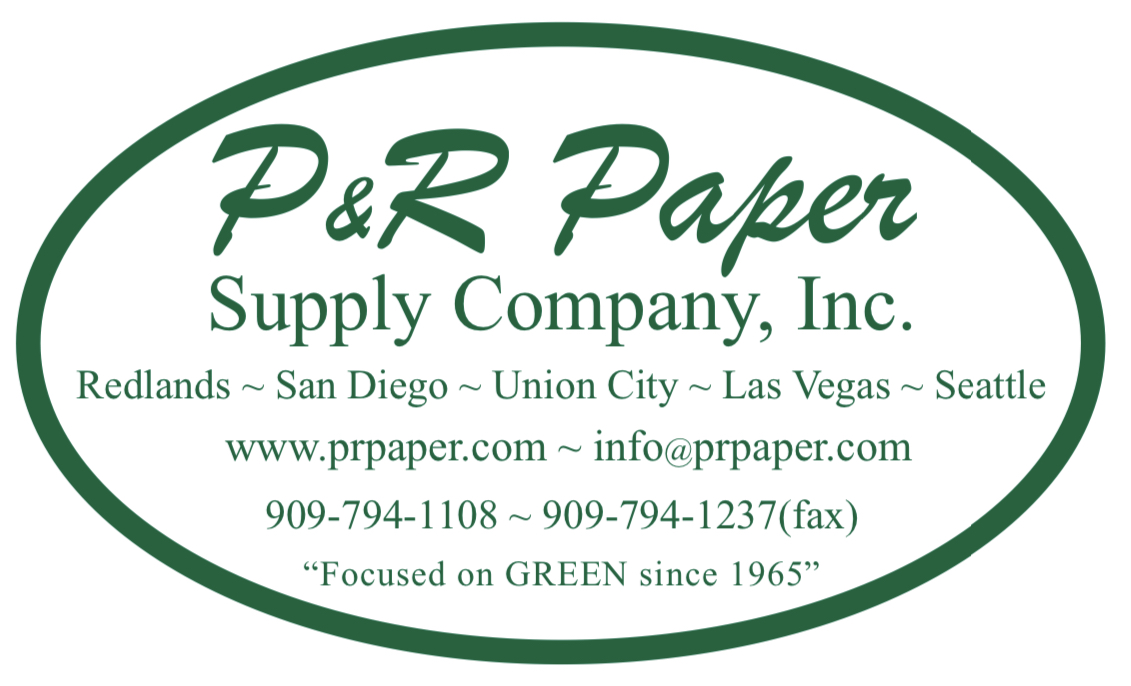 Tabletop Sponsor - P&R Paper Supply Company, Inc. - Logo