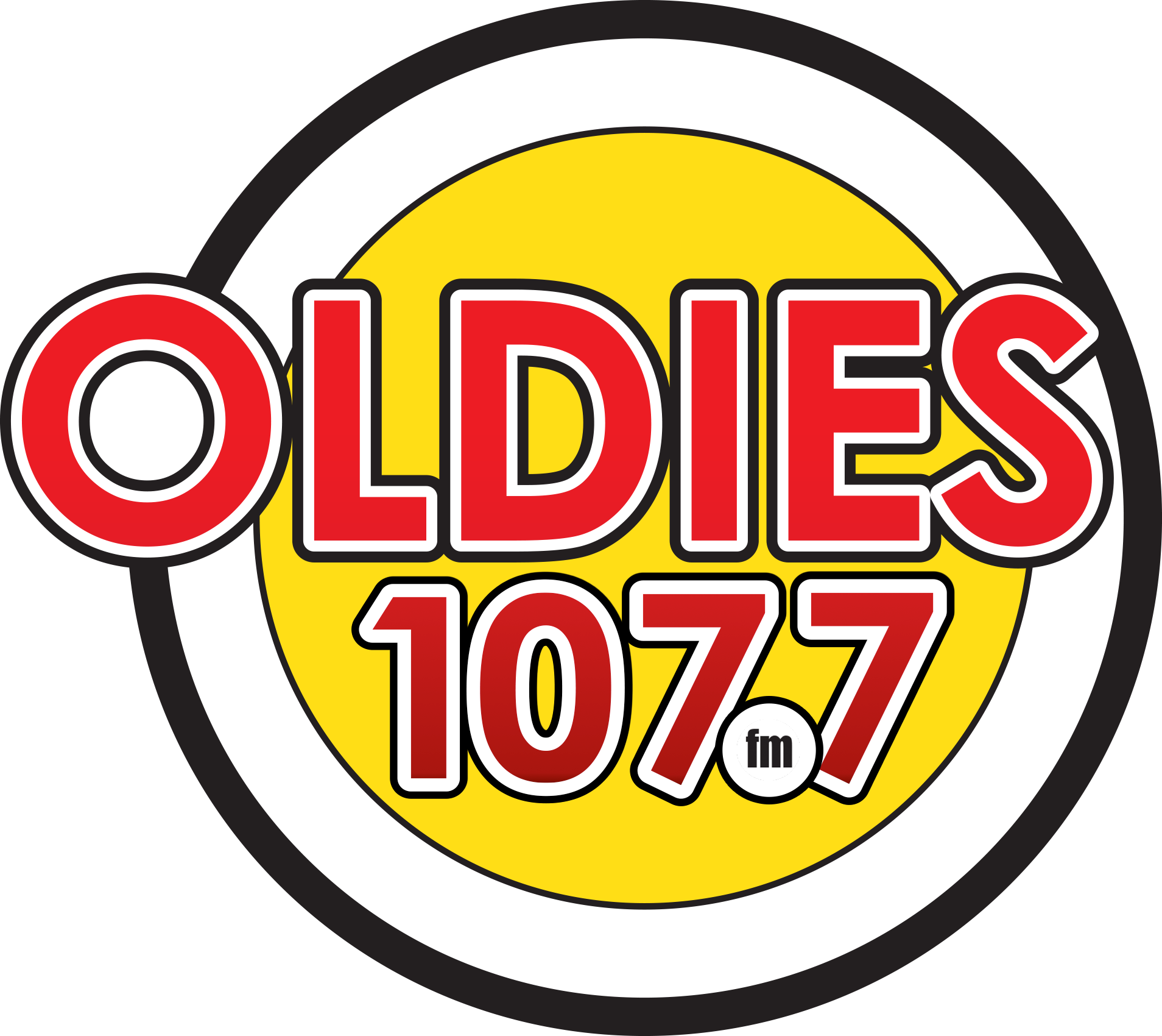 Event Sponsors - Oldies 107.7 - Logo