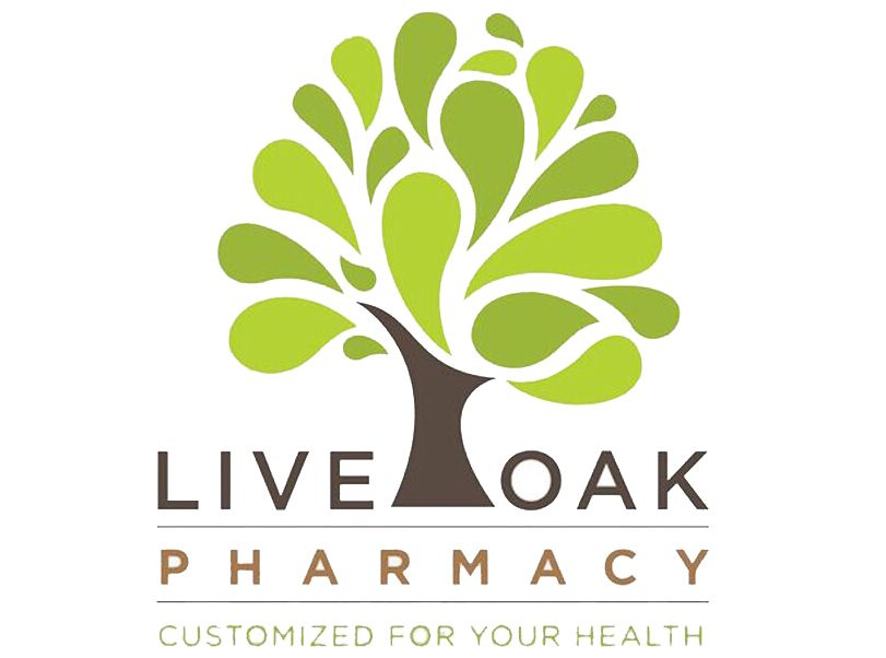 15th Hole Sponsor - Live Oak Pharmacy - Logo
