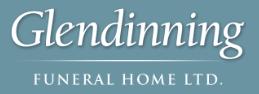 Prior Year Sponsors - Glendinning Funeral Home - Logo