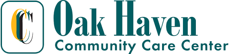 Title Sponsor  - Oak haven Community Care Center  - Logo