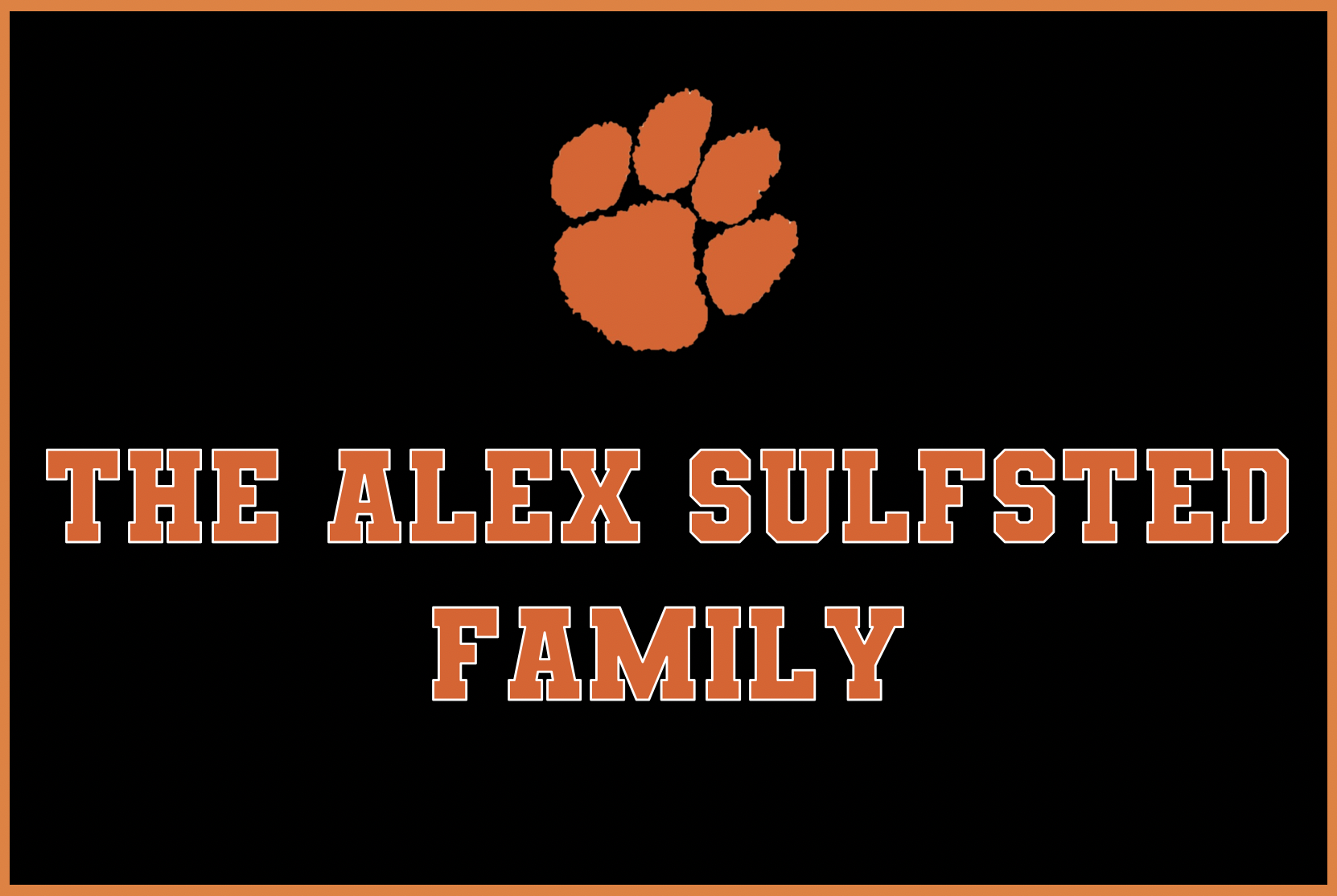 The Alex Sulfsted Family