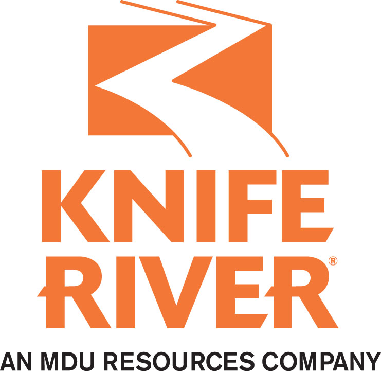 2020 Major Sponsor - Knife River - Logo