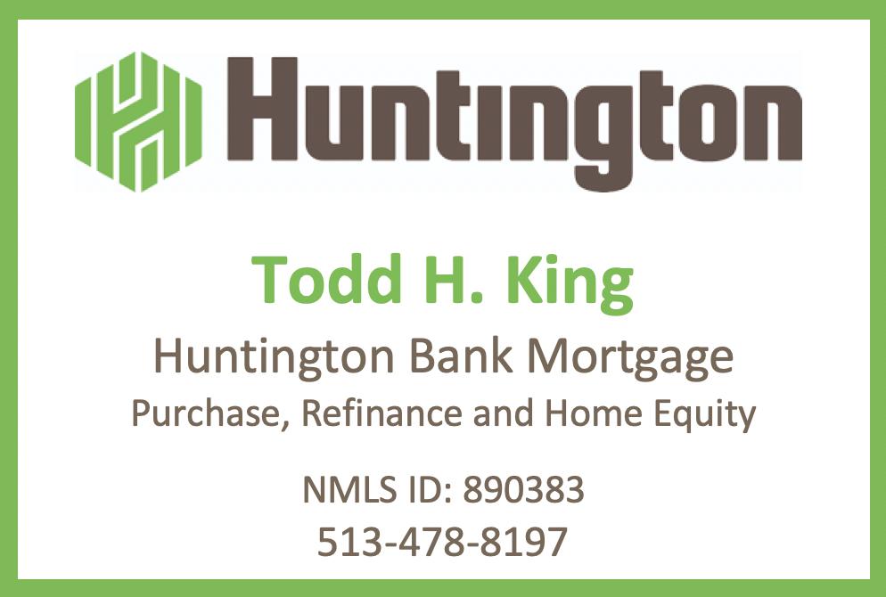 Todd H. King, Huntington Bank Morgage