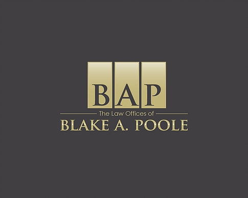"Tournament Sponsor ""Squad Leader"" - The Law Office of Blake A. Poole, LLC - Logo"