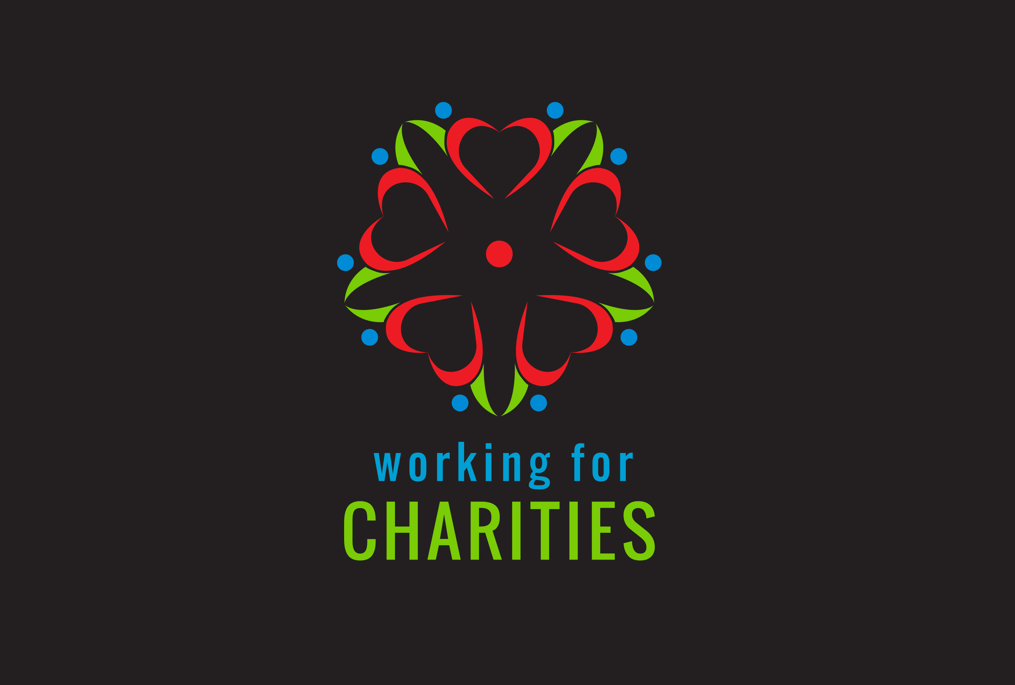 Board Sponsors - Working for Charities - Logo