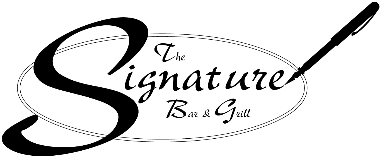 Sponsor - Signature Bar & Grill - Logo