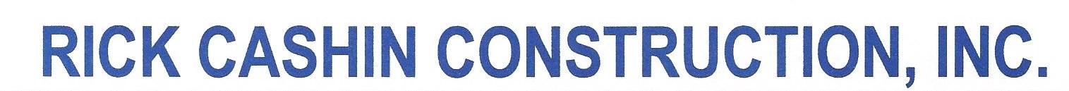 Silver - Rick Cashin Construction - Logo