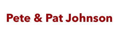 Silver - Pete and Pat Johnson - Logo