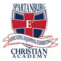 Bronze Hole Sponsor- $100 - Spartanburg Christian Academy - Logo