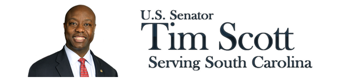 Putting Contest Sponsor- $500 - Senator Tim Scott - Logo