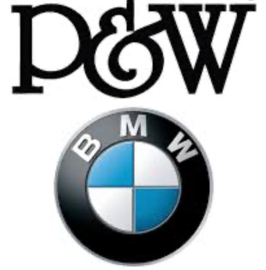 Hole In One Sponsor - P&W Motors - Logo