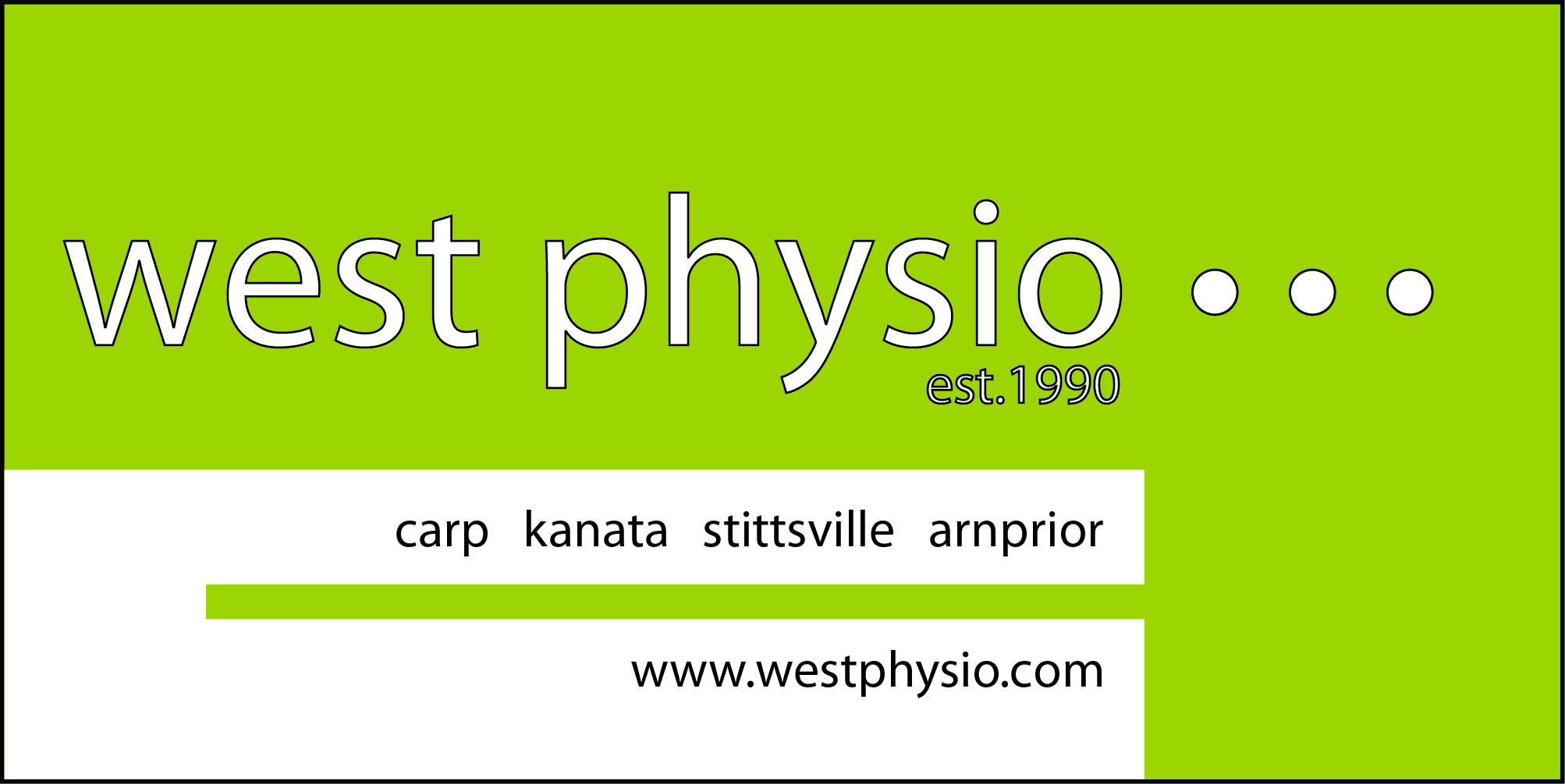 Hole Sponsors - West Physio - Logo