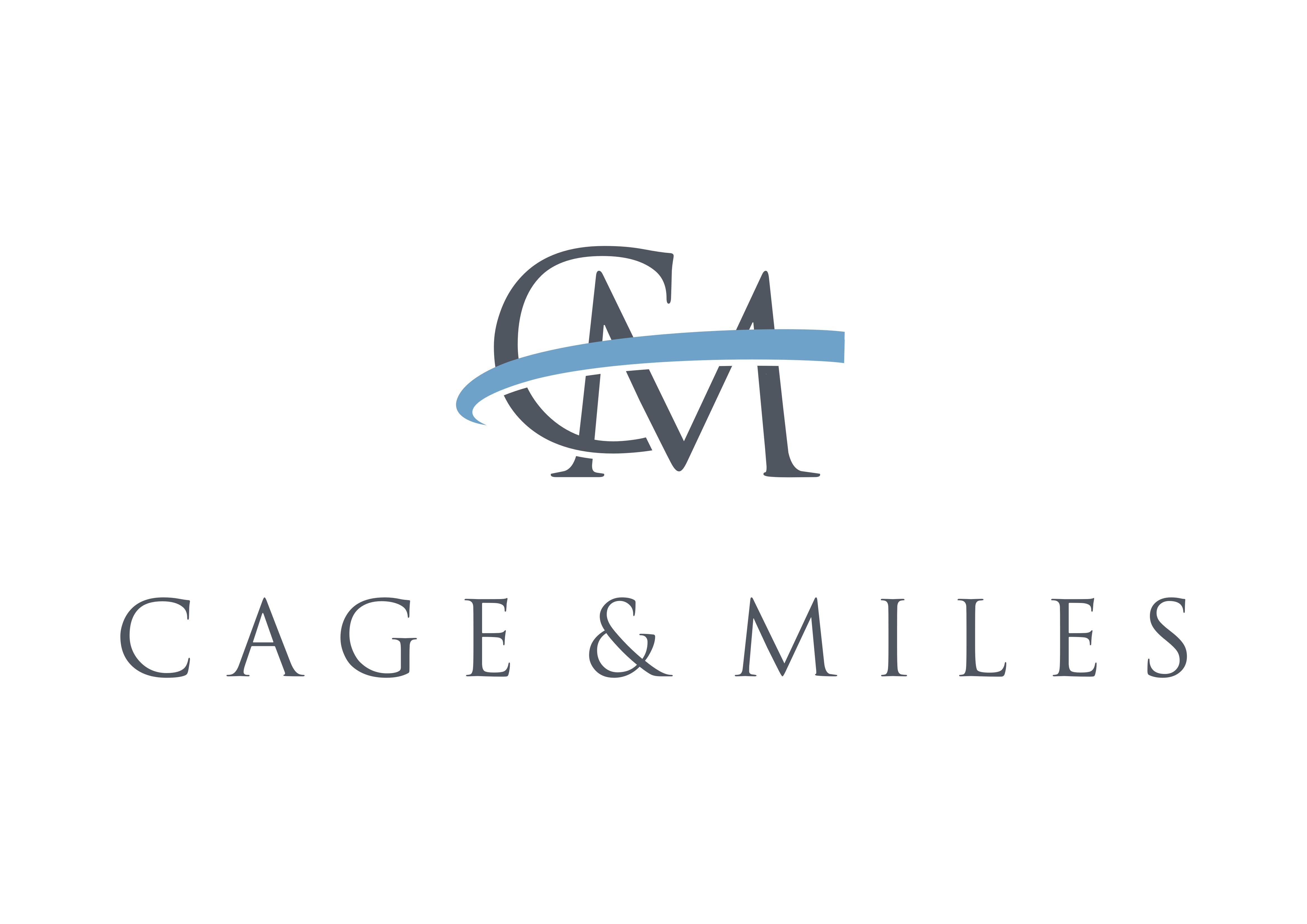 Beverage Sponsor - Cage & Miles - Logo