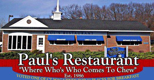 Paul's Restaurant, Cheshire, $20 Gift Card